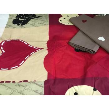 Постельное белье бязь с компаньоном Любящее Сердце фото 1