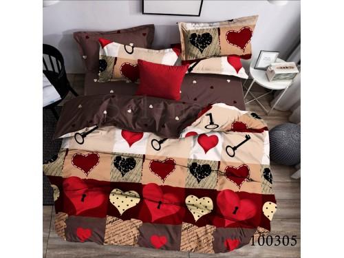 Постельное белье бязь с компаньоном Любящее Сердце 100305 от Selena в интернет-магазине PannaTeks