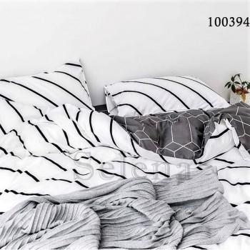 """Постельное белье бязь голд с компаньоном """"Полосатый Стиль"""" 100394 от Selena в интернет-магазине PannaTeks"""