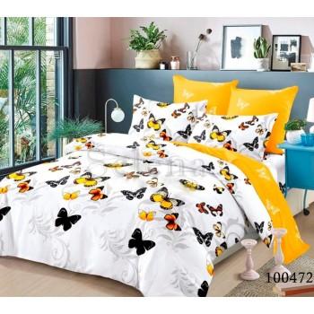 Постельное белье бязь с компаньоном Веселые Желтые Мотыльки 100472 от Selena в интернет-магазине PannaTeks