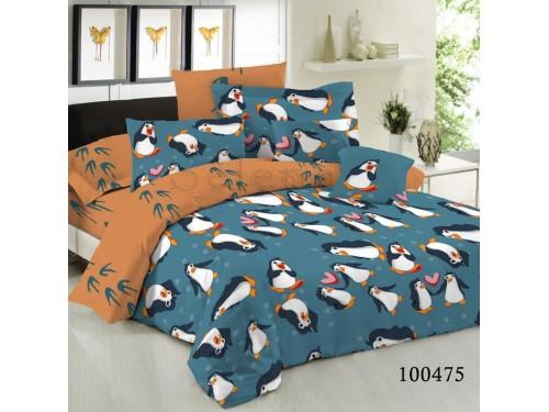 Постельное белье из бязи Пингвины 100475 от Selena в интернет-магазине PannaTeks