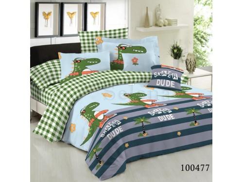 Постельное белье Крокодильчик бязь люкс 100477 от Selena в интернет-магазине PannaTeks
