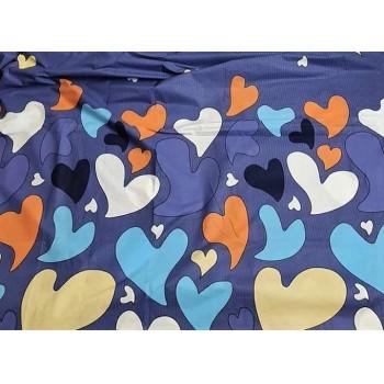 Постельное белье бязь с компаньоном Палитра Ярких Сердец фото 2
