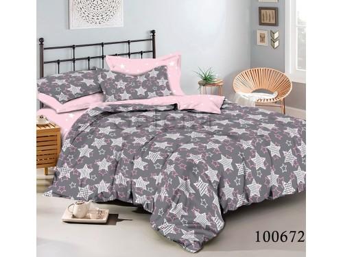Постельное белье бязь с компаньоном Розовое Созвездие 100672 от Selena в интернет-магазине PannaTeks