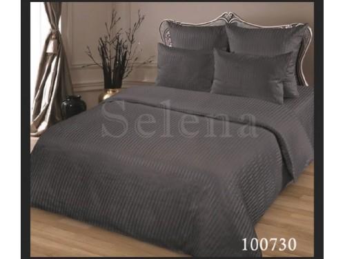 """Постельное белье бязь """"Stripe Коричневый"""" 100730 от Selena в интернет-магазине PannaTeks"""