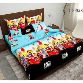 """Подростковое постельное белье бязь люкс """"LEGO (Лего)"""""""