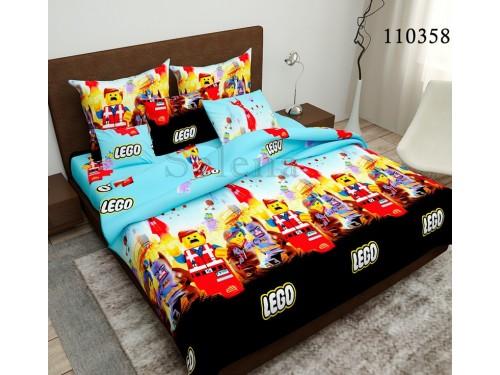 """Подростковое постельное белье бязь люкс """"LEGO (Лего)"""" 110358  от Selena в интернет-магазине PannaTeks"""