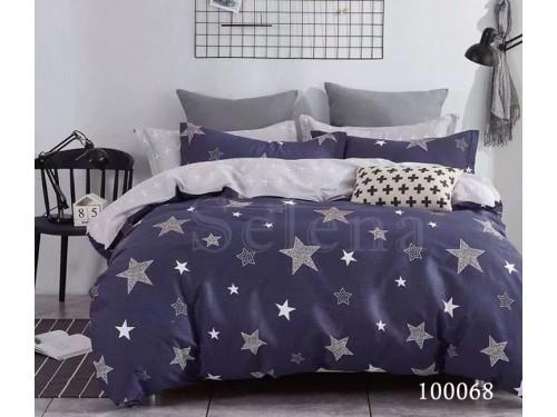 """Постельное белье бязь """"Бесконечные звезды"""" 100068 от Selena в интернет-магазине PannaTeks"""