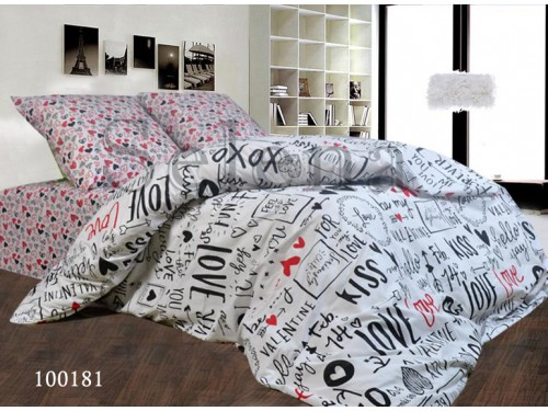 """Постельное белье бязь """"Kiss"""" 100181 от Selena в интернет-магазине PannaTeks"""