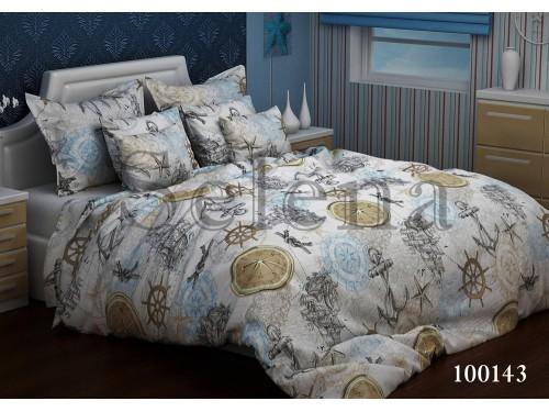 """Постельное белье бязь """"Кругосветное путешествие"""" 100143 от Selena в интернет-магазине PannaTeks"""