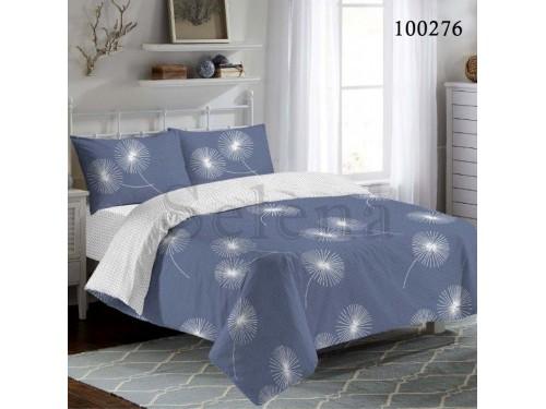 Постельное белье бязь с компаньоном Синие Одуванчики, Selena 100276 от Selena в интернет-магазине PannaTeks