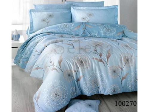 """Постельное белье бязь """"Одуванчики Blue"""" 100270 от Selena в интернет-магазине PannaTeks"""
