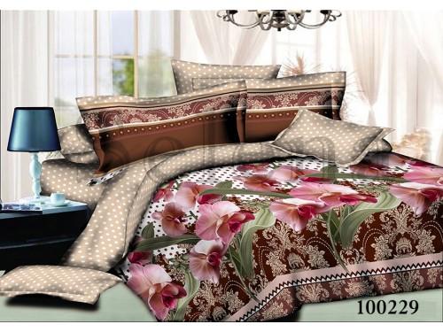"""Постельное белье бязь """"Орхидея горох"""" 100229 от Selena в интернет-магазине PannaTeks"""