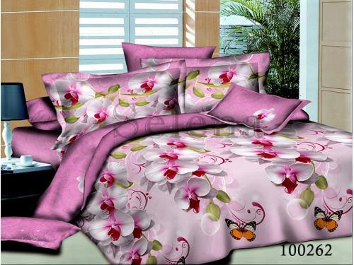 """Постельное белье бязь """"Орхидея розовая"""" 100262 от Selena в интернет-магазине PannaTeks"""