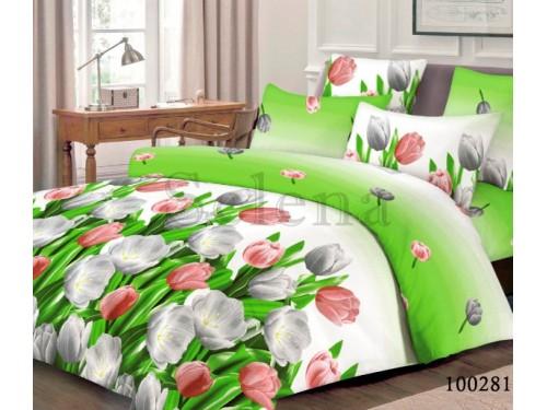 """Постельное белье бязь """"Тюльпаны"""" 100282 от Selena в интернет-магазине PannaTeks"""