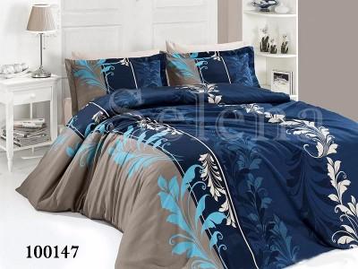 """Постельное белье бязь """"Триада blue"""" 100147 от Selena в интернет-магазине PannaTeks"""