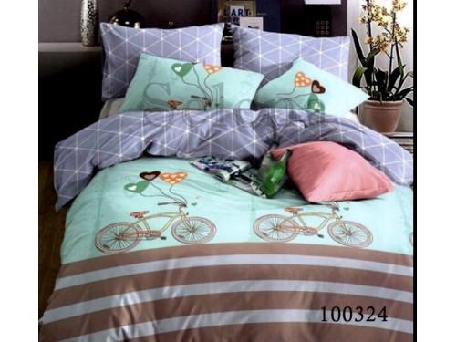 """Постельное белье бязь """"Велосипед"""" 100324 от Selena в интернет-магазине PannaTeks"""