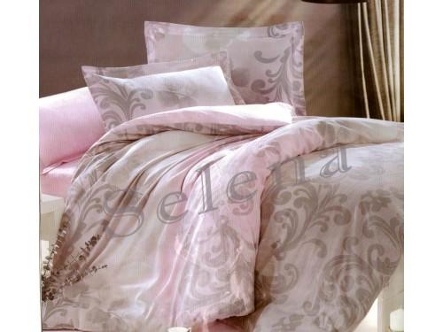 """Постельное белье бязь """"Вензель крупный"""" 100024 от Selena в интернет-магазине PannaTeks"""