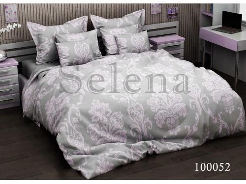 """Постельное белье бязь """"Вензель розовый"""" 100052 от Selena в интернет-магазине PannaTeks"""