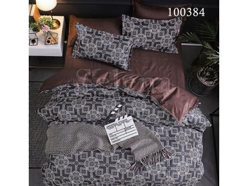 """Постельное белье бязь с компаньоном """"Восточный Мотив Brown"""" 100384 от Selena в интернет-магазине PannaTeks"""