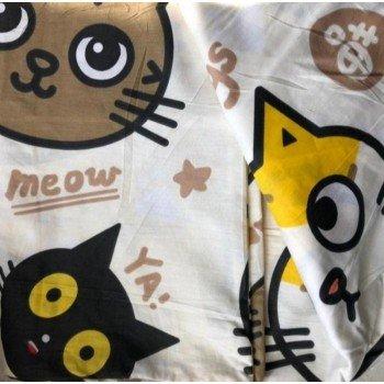 Подростковое постельное белье ранфорс Смешные Котики фото 3
