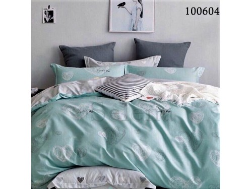 Постельное белье бязь с компаньоном Рисованные Сердечки 100604 от Selena в интернет-магазине PannaTeks