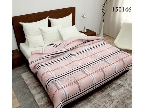 """Постельное белье бязь light (лайт) с компаньоном """"Розовый Парк"""" 150146 от Selena в интернет-магазине PannaTeks"""