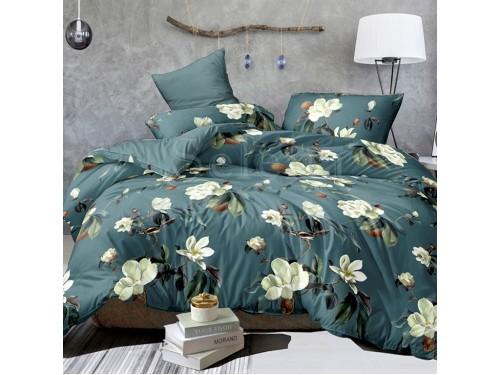 Постельное белье бязь light (лайт) Цветы Магнолии 150148 от Selena в интернет-магазине PannaTeks
