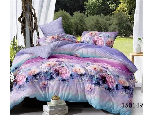 Постельное белье бязь light (лайт) с компаньоном Цветочный Гипноз 150149 от Selena в интернет-магазине PannaTeks