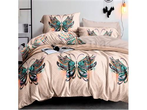 Постельное белье бязь light (лайт) Бабочка Восточная 150208 от Selena в интернет-магазине PannaTeks
