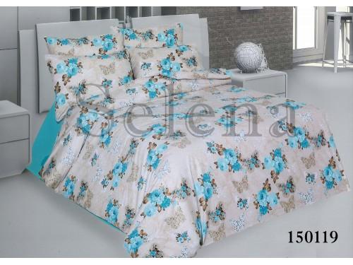 """Постельное белье бязь light """"Нежность голубая"""" 150119 от Selena в интернет-магазине PannaTeks"""