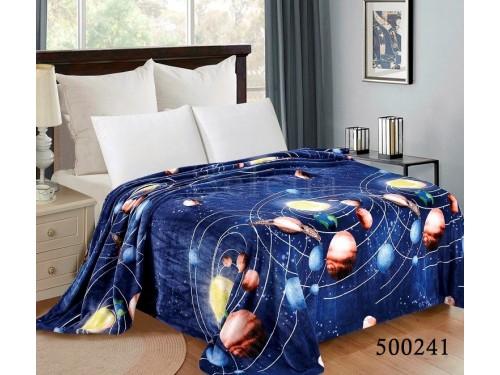 """Плед велсофт """"Планеты"""" 500241 от Selena в интернет-магазине PannaTeks"""