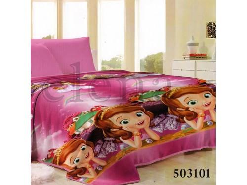 Детский плед для девочки микрофибра София 503101 от Selena в интернет-магазине PannaTeks