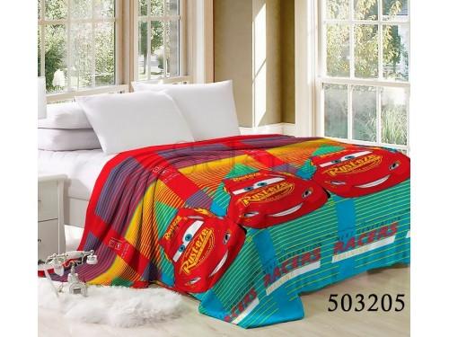 "Плед велсофт ""Машинки 3"" 503205 от Selena в интернет-магазине PannaTeks"