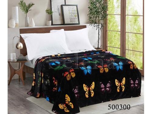 """Плед микрофибра """"Ночные бабочки"""" 500301 от Selena в интернет-магазине PannaTeks"""