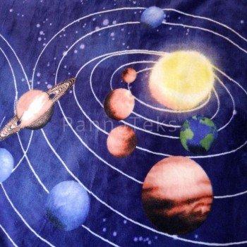 """Плед велсофт """"Планеты"""" фото 1"""