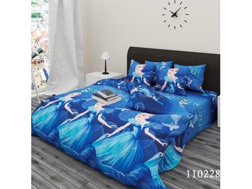 Детское постельное белье бязь люкс Холодное Сердце 110228 от Selena в интернет-магазине PannaTeks