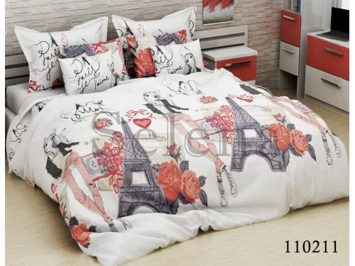 Детское постельное белье бязь Прогулка по Парижу 100211 от Selena в интернет-магазине PannaTeks