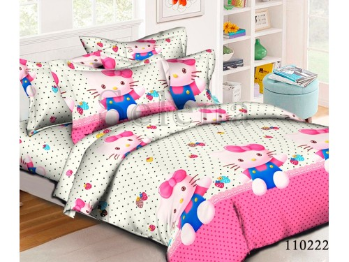 Детское постельное белье бязь голд Котята 110222 от Selena в интернет-магазине PannaTeks