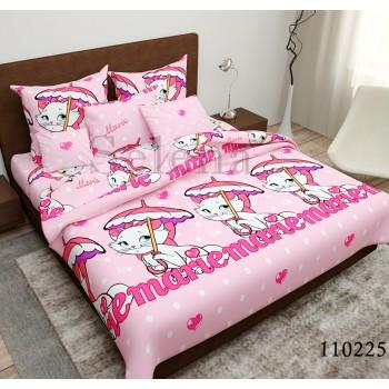 Детское постельное белье для девочки бязь голд Кошечка Мери