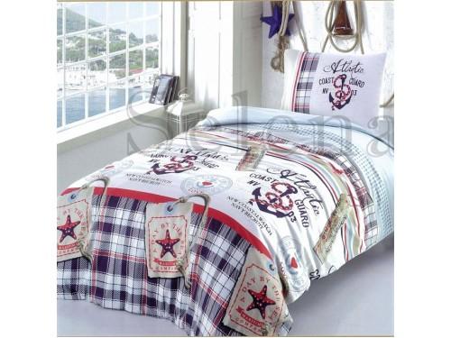 Детское постельное белье для мальчика бязь Якоря 110317 от Selena в интернет-магазине PannaTeks