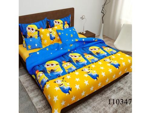 Детское постельное белье бязь голд Миньоны 110347 от Selena в интернет-магазине PannaTeks