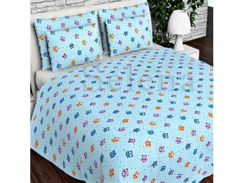 """Детское постельное белье бязь голд """"Совята маленькие"""" 110348 от Selena в интернет-магазине PannaTeks"""