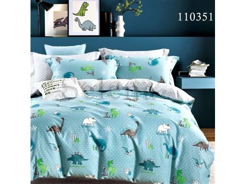 Детское постельное белье бязь голд Dino семья 110351 от Selena в интернет-магазине PannaTeks