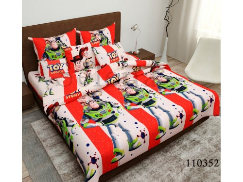 Детское постельное белье бязь голд Игрушки 110352 от Selena в интернет-магазине PannaTeks
