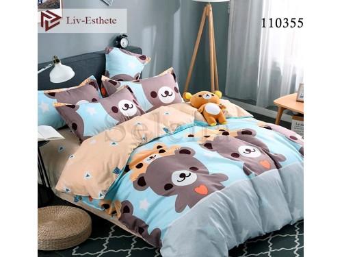 Детское постельное белье бязь люкс Тедди 110355 от Selena в интернет-магазине PannaTeks
