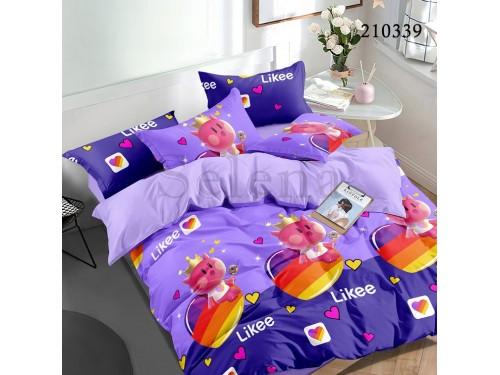 Детское постельное белье ранфорс Котенок Королевский 210339 от Selena в интернет-магазине PannaTeks