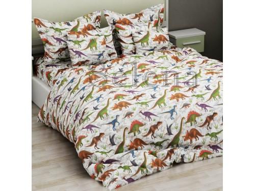 Детское постельное белье бязь Динозавры на прогулке 110337 от Selena в интернет-магазине PannaTeks