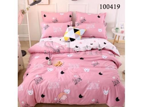 Детское постельное белье бязь Мурчики розовые 100419 от Selena в интернет-магазине PannaTeks