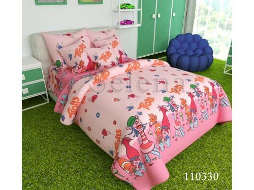 Детское постельное белье бязь Розовые Тролли, Selena, 110330 110330 от Selena в интернет-магазине PannaTeks